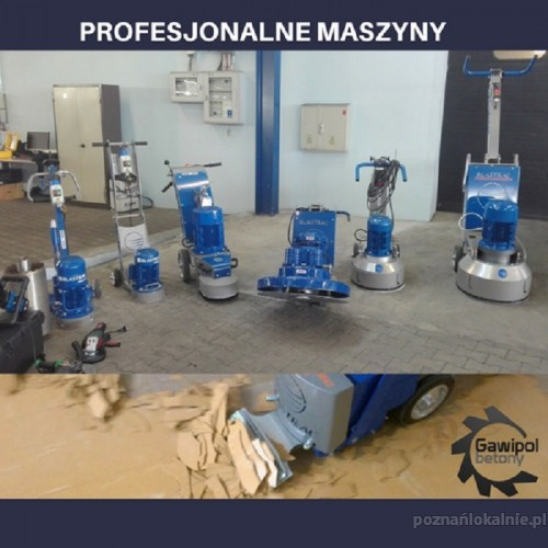 Usuwanie subitu, usuwanie lepiku -Frezowanie betonu Poznań