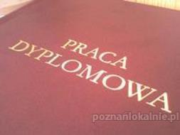PISANIE I REDAGOWANIE PRAC DYPLOMOWYCH - BEZ PLAGIATU